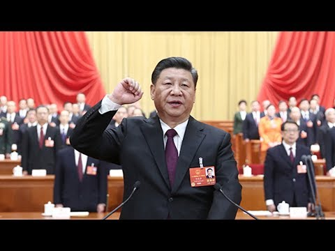 Xi Jinping takes oath as Chinese president and chairman of PRC Central Military Commission
