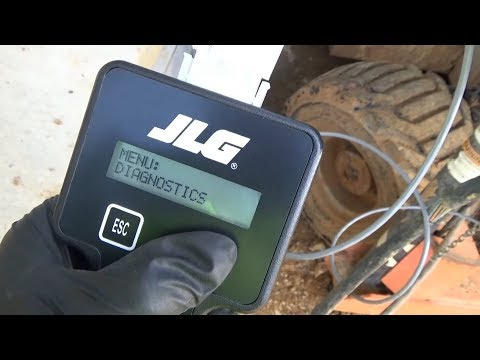 CONSTRUCTION SITE: JLG Lift No Steering!