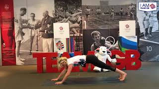 Aimee Fuller's Mobility Workout | I Am Team GB