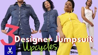 3 Designer Jumpsuit Upcycles To Completely Slay This Spring!