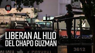 Liberan al hijo del Chapo Guzmán tras ola de violencia en Sinaloa   El Espectador