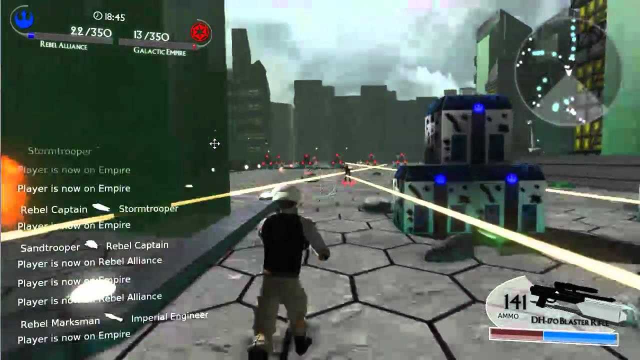 Игра звездные войны демо игры лего губка боб зомби
