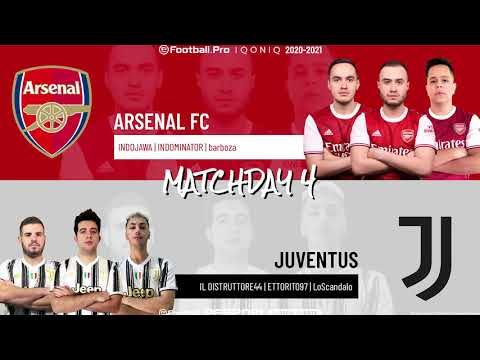 Arsenal FC vs. Juventus | Highlights Matchday 4 eFootball.Pro IQONIQ 2020-2021