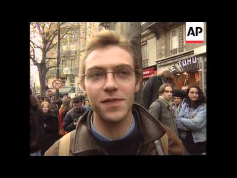 France - Student Marches For More Funding