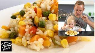 Рис с Овощами! Готовлю Любимое Блюдо Дочери! Вам Этот Рецепт Тоже Понравится!