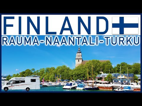 RVing in Finland: Rauma, Naantali & Turku - Traveling Robert