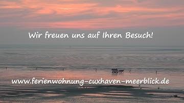 Ferienwohnung Cuxhaven Meerblick