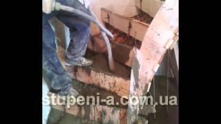 БЕТОННАЯ ЛЕСТНИЦА для дома своими руками(Процесс изготовления бетонной лестницы для частного дома от компании