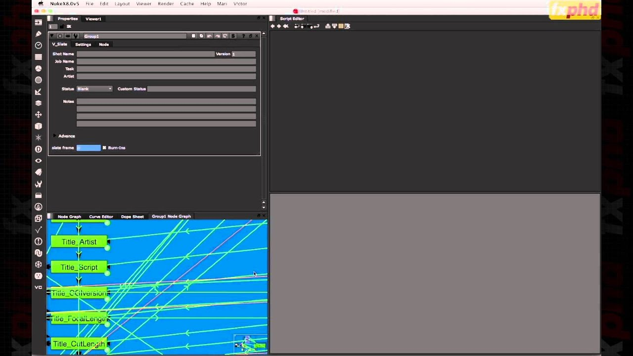 NUK227: Python for NUKE and Gizmology by fxguide/fxphd