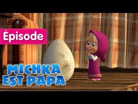 Masha et Michka - 🐻  Michka Est Papa 🐻 (Épisode 23) Dessin animé en Français 2017!