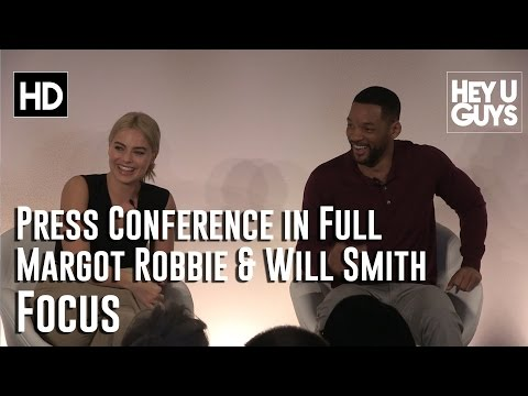 Will Smith and Margot Robbie - Focus Press Conference in Full