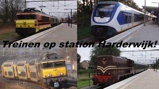 Treinen op station Harderwijk! (o.a. IC Berlijn, Kameel, 2225 en GTW)