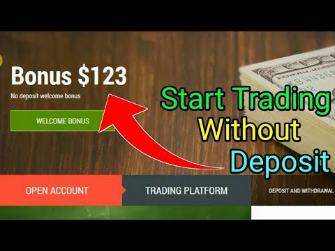 How To Start Forex Trading Without Deposit You Can Get $123 Welcome Bonus