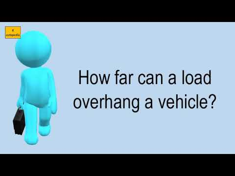 How Far Can A Load Overhang A Vehicle?