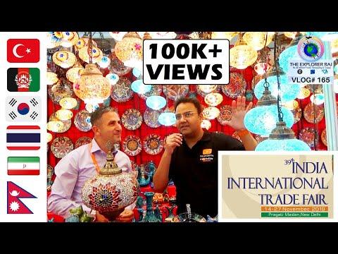 India International Trade Fair 2019 Delhi | Pragati Maidan | Part-1 Foreign Countries