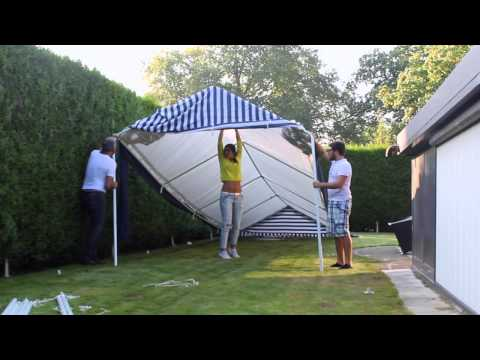 Making A Partytent