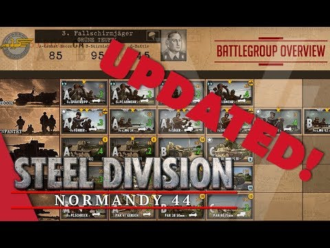 UPDATED! 3rd Fallschirmjäger (Grüne Teufel) - Steel Division: Normandy 44 Battlegroup Overview #14