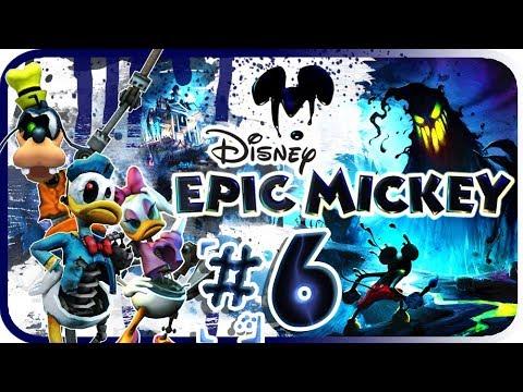 Disney Epic Mickey Walkthrough Part 6 (Wii) Mickeyjunk Mountain [No Commentary]
