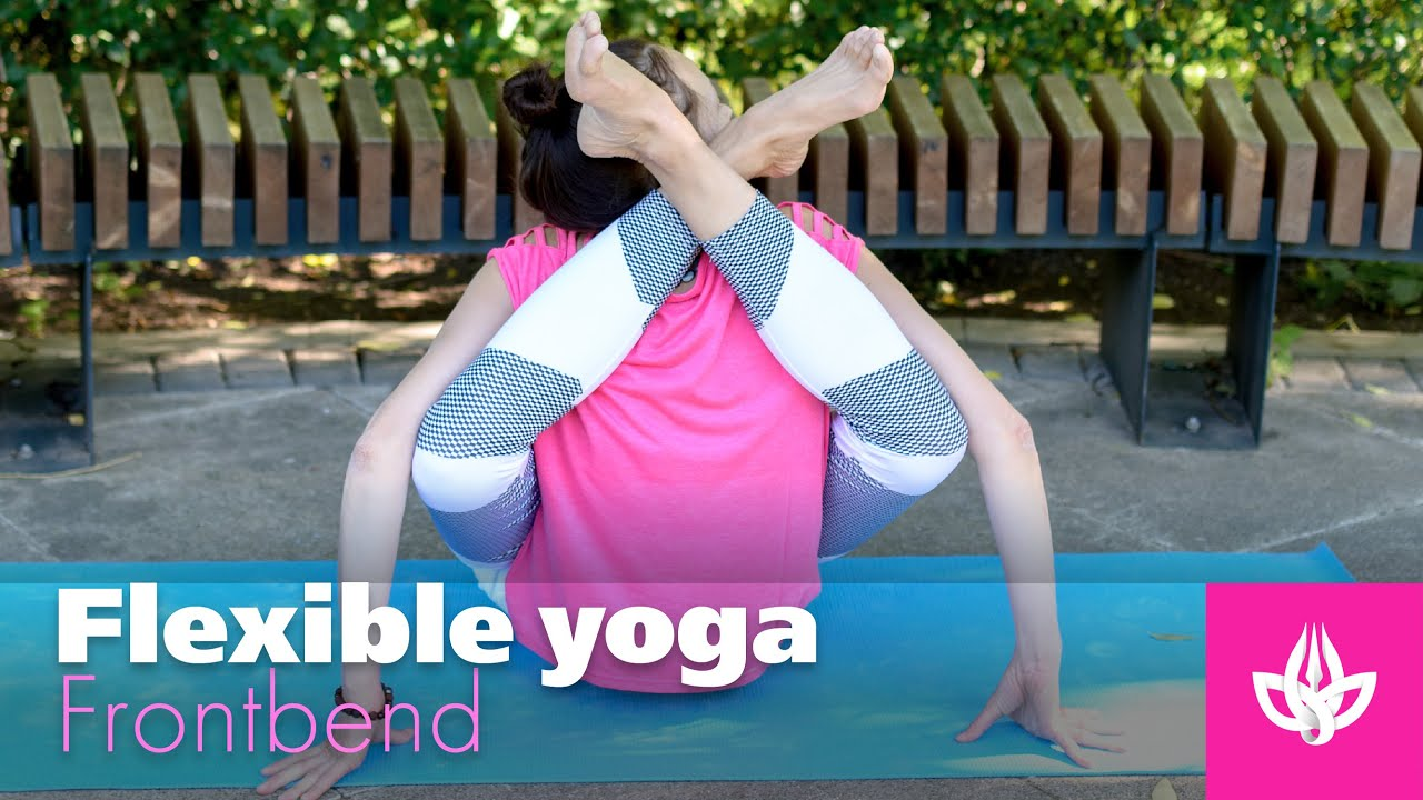 Flexible yoga. Contortion fitness Natalia Chistyakova.