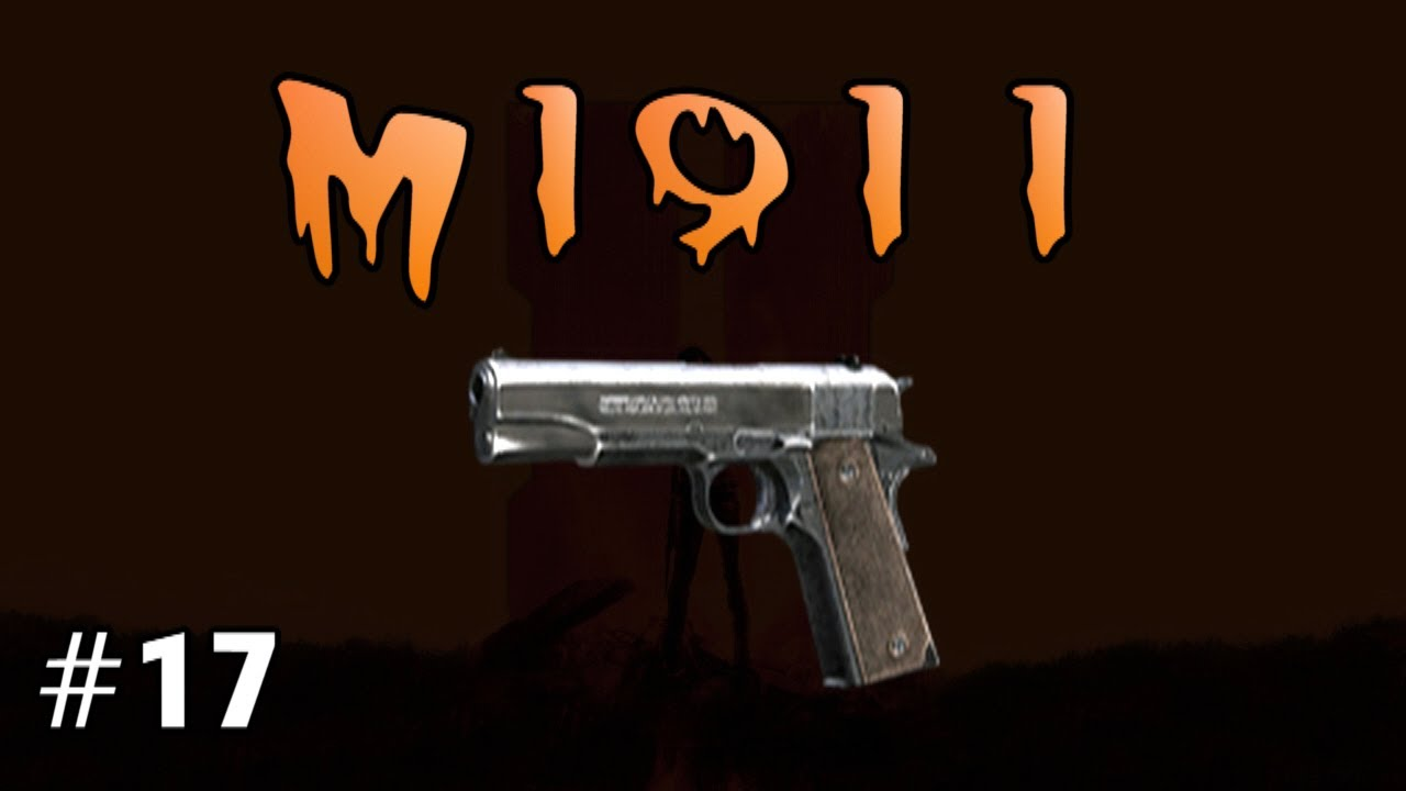 M1911 Black Ops 2 Zombies 17 Youtube