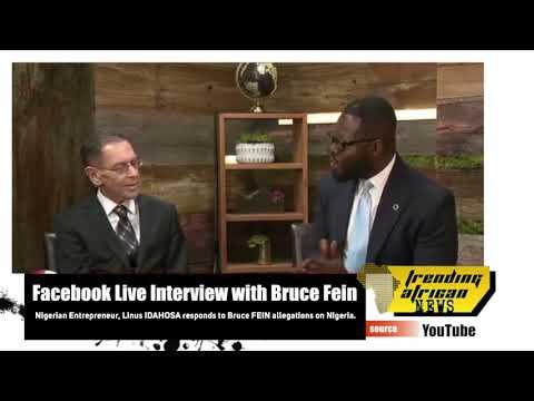 Nigerian Entrepreneur Linus Idahosa Responds To Bruce Fein Allegation on Nigeria