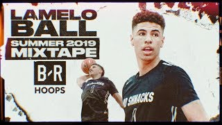 LaMelo Ball 2019 Drew League Summer Mix | 18-Year-Old BUCKET