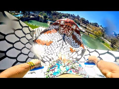 POV King Cobra en Six Flags Hurricane Harbor Oaxtepec