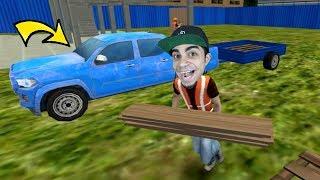 """محاكي الحياة الواقعية : وظيفتي الجديدة """" عامل بناء """"  Big City Life Simulator !!"""