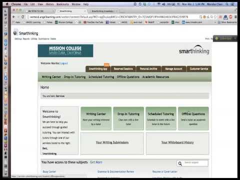 Smarthinking online help