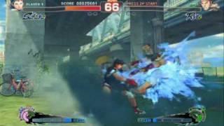 Super Street Fighter 4 - Gameplay Video 5