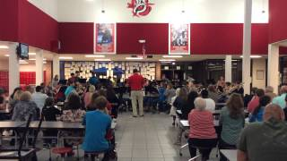 The River Kwai March by the Eufaula High School Symphonic Band Pre MPA March 9 2015
