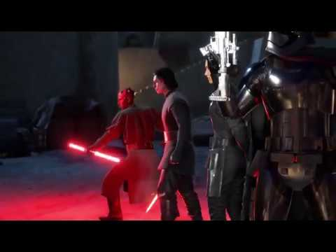 Star Wars Battlefront 2 - Heroes Vs Villains Gameplay HD #31