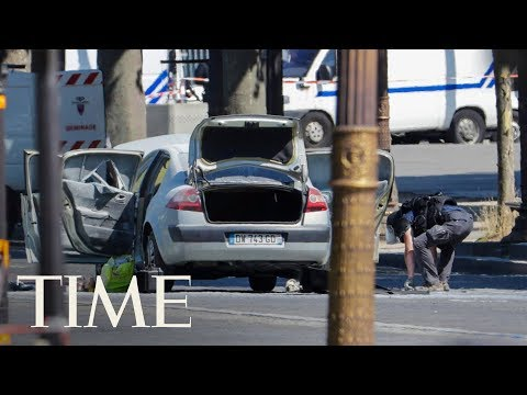 Man Rams Car Into Police Vehicle Near Champs-Elysees In Paris In Deliberate Attack | TIME