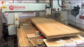 Cnc Wood Door Making Machine