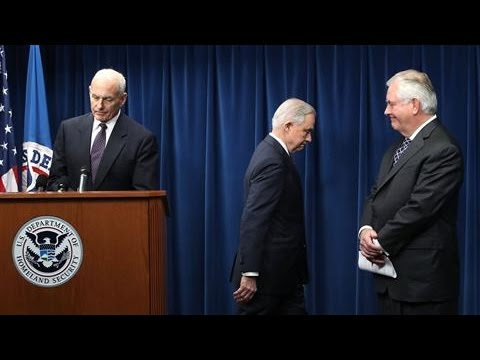 Tillerson, Sessions Defend Revised Travel Order