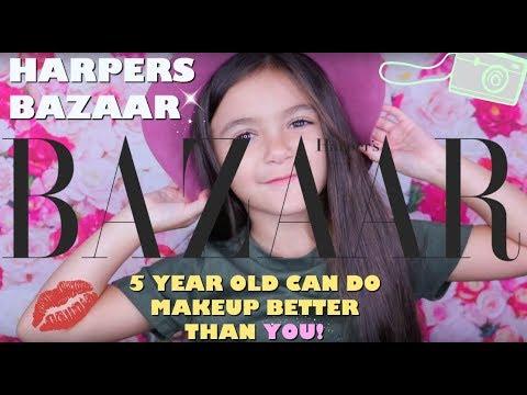 Fall Makeup Tutorial For Harpers Bazaar Magazine 2017 Youtube