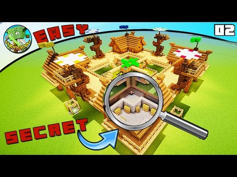 4-Player Survival Base (Minecraft EASY Build #2)