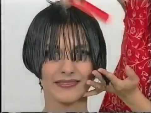 Jessica Alba Haircut Style   Short Hair Cutting Lesson