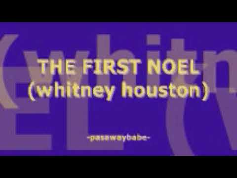 THE FIRST NOEL - WHITNEY HOUSTON