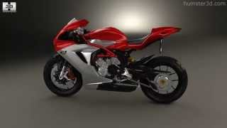 MV Agusta F3 800 2014 by 3D model store Humster3D.com