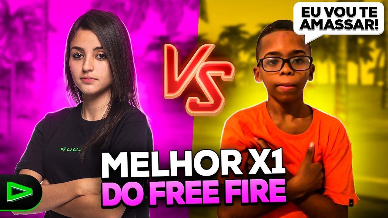 TENTE NÃO RIR!! O MELHOR X1 NO FREE FIRE COM BOCA DE 09!!