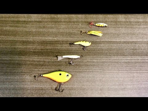 Tackle Tip Tuesday - Top 5 Walleye Fishing Lure's (Ice Fishing Addition)