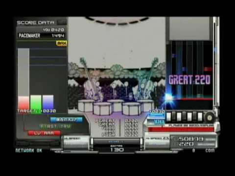 Beatmania IIDX 17 Sirius] Hdd party mode play!   FunnyDog TV