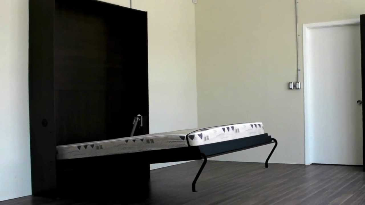 Electric Murphy Bed Electrical Wallbed Murphy Bed Youtube
