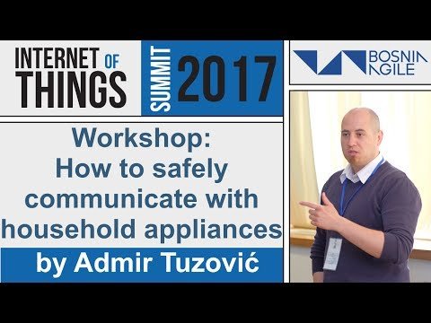 How to safely communicate with household appliances by Admir Tuzović