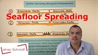 Seafloor Spreading - divergente Plattengrenze | Plattentektonik |Erdkunde