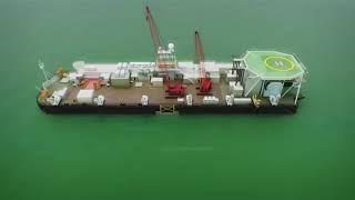 Как происходит надводный захлёст при строительстве \