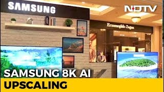 A Samsung QLED 8K TV for Almost Rs. 60 Lakh