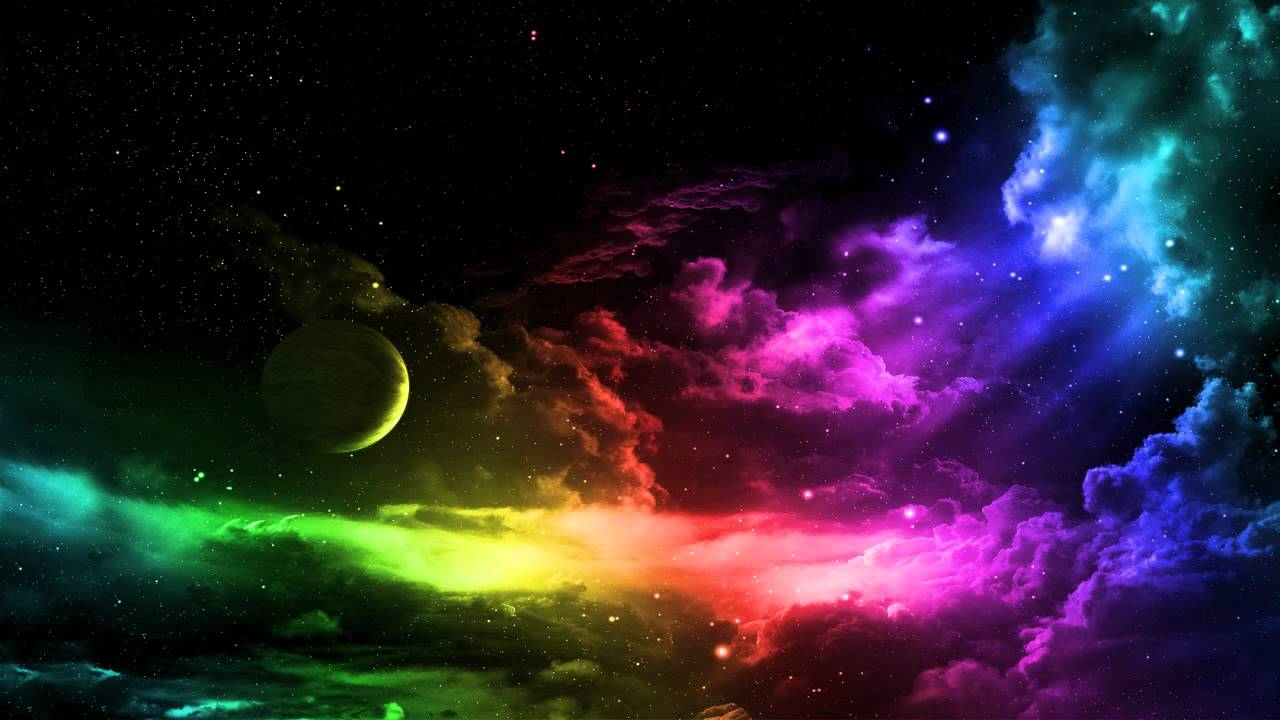 Rainbow Clouds Wallpaper - YouTube