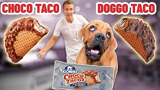 Recreating Choco Tacos but for Dogs!  (DIY Dog Treats)